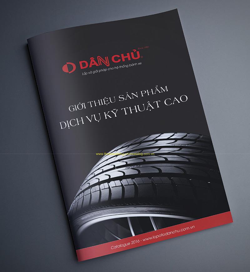 Công ty in Nhanh Hà Nội chuyên: in catalogue số lượng ít thiet ke catalog sua chua sam lop oto dan chu 5