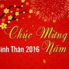 Thông báo lịch nghỉ Tết Bính Thân 2016